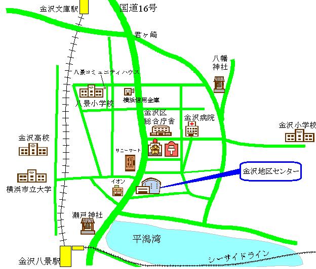周辺地図 金沢