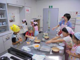 お菓子教室(低学年)